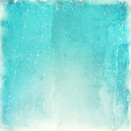 outworn: blue grunge background