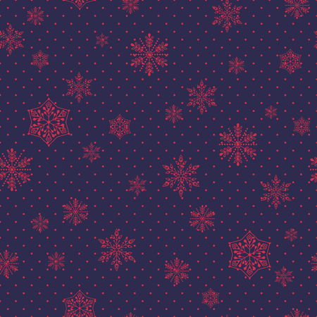wrap vector: Seamless christmas pattern