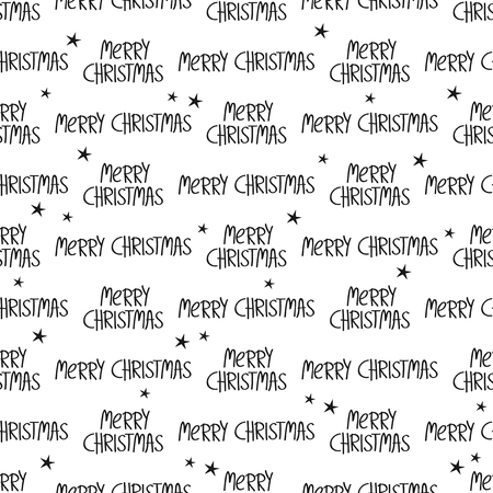 christmas motif: Seamless christmas pattern