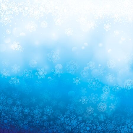 heaven: abstract winter background Illustration