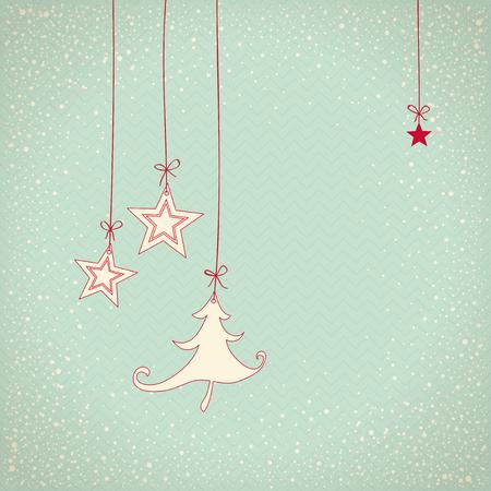 hangtag: christmas card