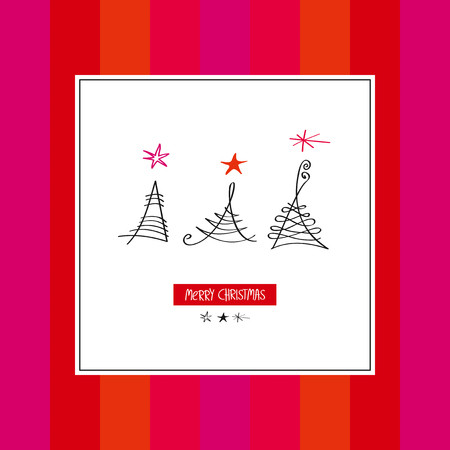 christmas motif: christmas card