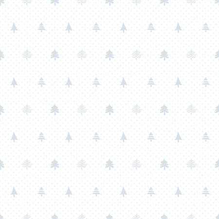 Seamless christmas pattern with christmas trees