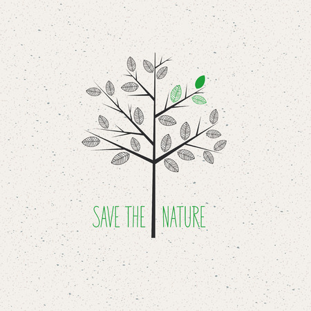 green concept: green concept, Save the nature