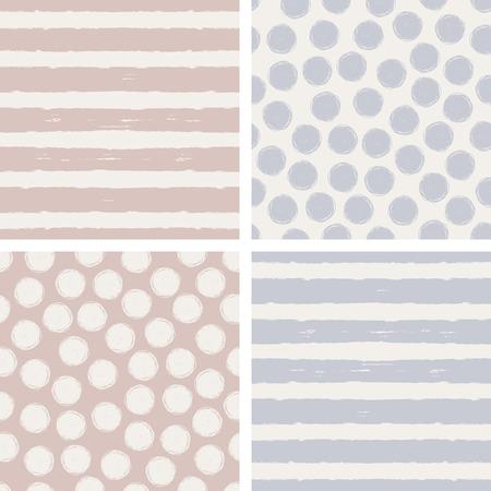 set of seamless patterns 版權商用圖片 - 52236826