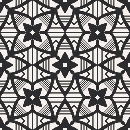 seamless geometric pattern Stock Illustratie