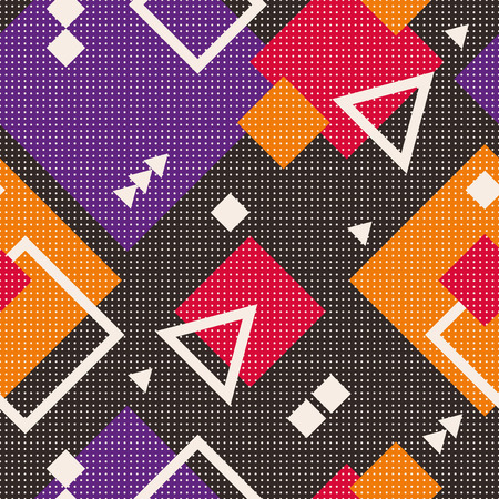 linearly: seamless geometric pattern Illustration