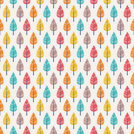 paper case: seamless autumn pattern with leaves Illustration