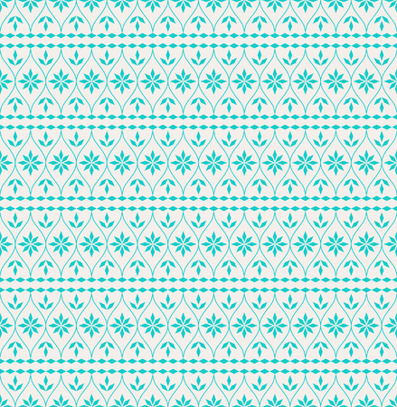 seamless christmas pattern in scandinavian style
