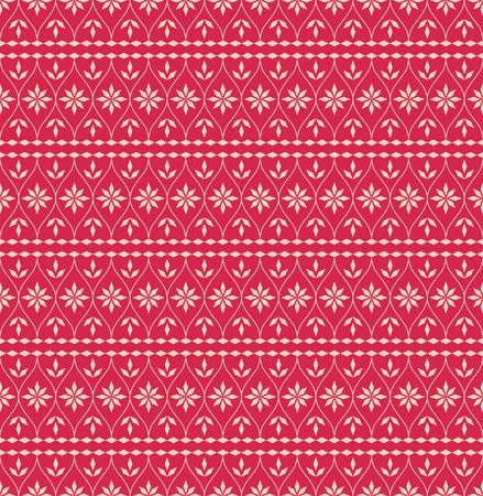 scandinavian: seamless christmas pattern in scandinavian style