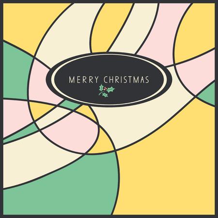 sixties: christmas card