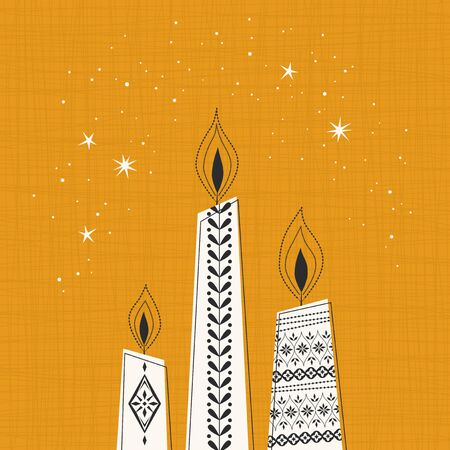 advent candles: christmas candles