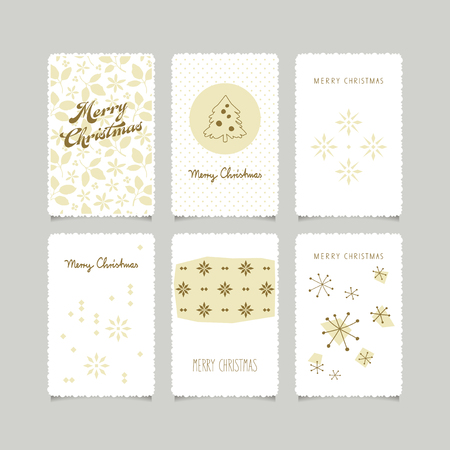 jeu de cartes de Noël décoratifs