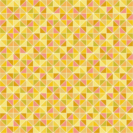 networked: seamless geometric pattern with triangles