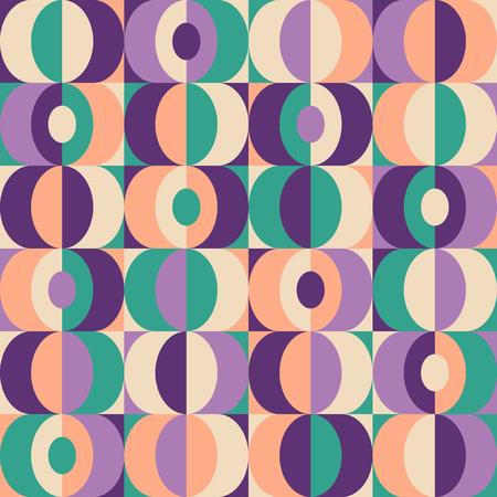 seamless vintage geometric pattern 向量圖像