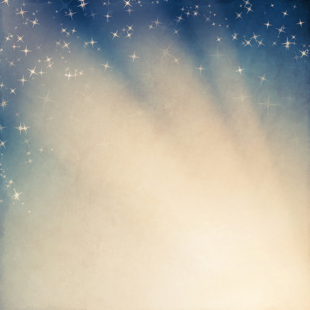 vintage background with stars
