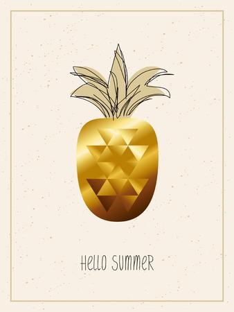 hello summer - template for summer design