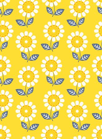 naadloze bloem patroon