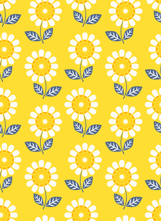 Seamless floral pattern Banque d'images - 75901489
