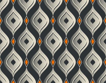 seamless vintage pattern Illusztráció
