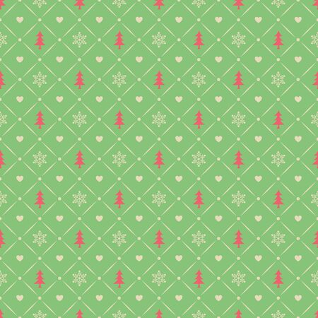 seamless christmas pattern Vector illustration. Ilustrace