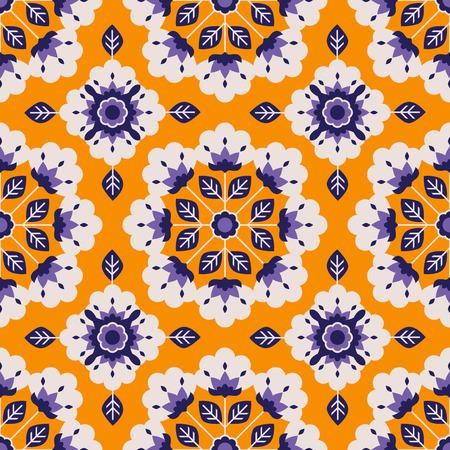 seamless floral vintage pattern 向量圖像