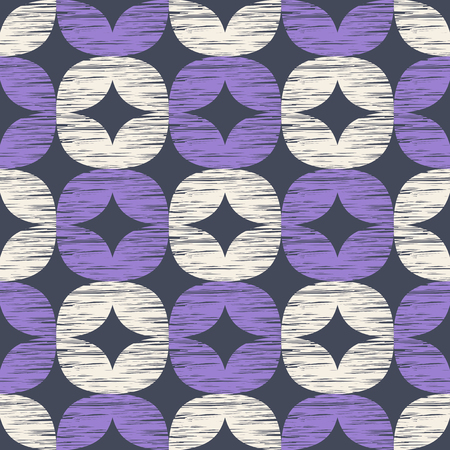 seamless pattern with retro ornaments Vectores