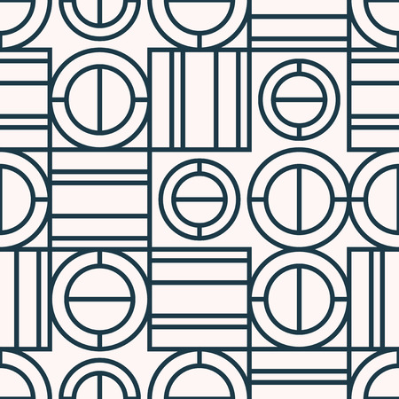 seamless pattern with geometric elements 向量圖像