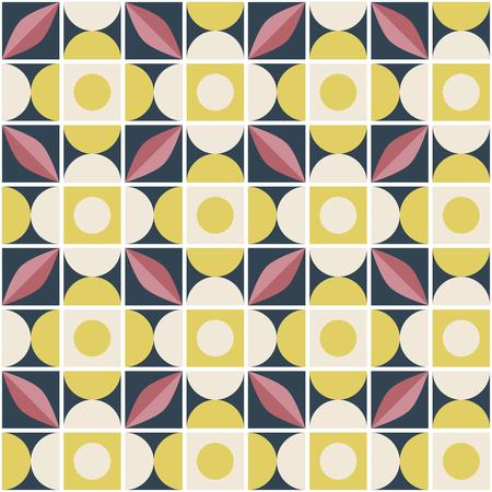 seamless retro pattern in mosaic style 版權商用圖片 - 116449264