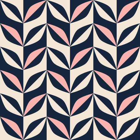 seamless abstract retro pattern 向量圖像