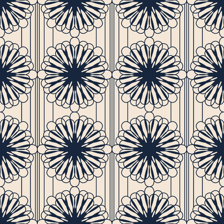 seamless pattern with ornamental elements