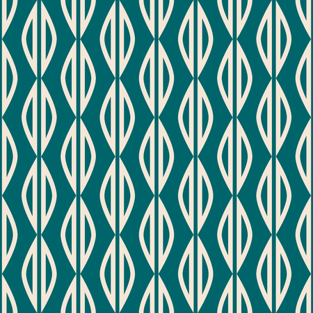 seamless pattern with geometric shapes in retro scandinavian style