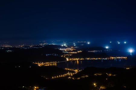 jiufen: The night city in Jiufen New Taipei city