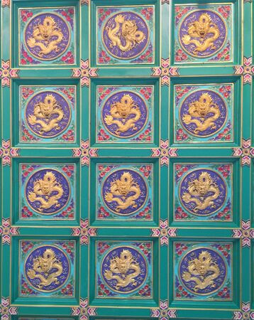 ceiling: Temple ceiling