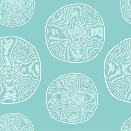 wood cuts: Vector forest seamless pattern with wood cuts. Seamless pattern can be used for wallpapers, pattern fills, web backgrounds, surface textures.