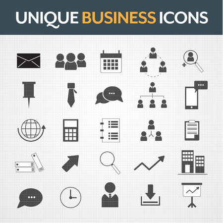 engineering icon: Business icons theme set