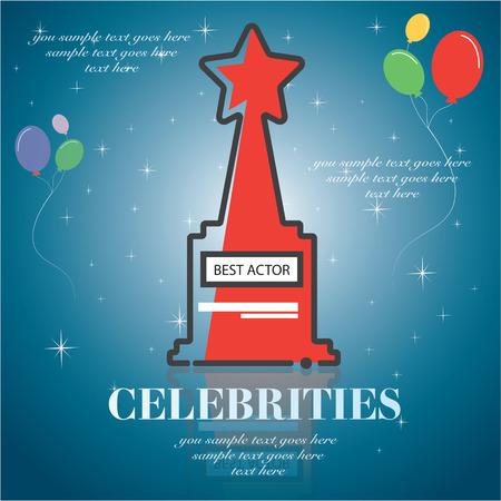 celebrities: celebrities universal movie greeting icon