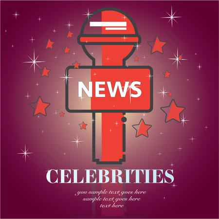 famosos: celebridades icono de felicitación de la película universales