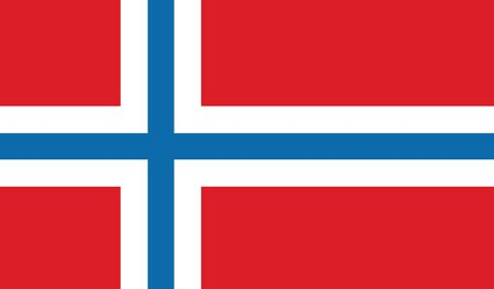 norway flag: flag of norway vector icon illustration