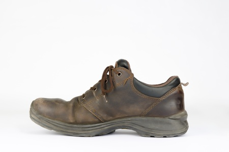 Work shoes brown Imagens