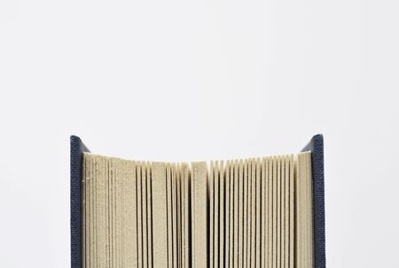 finer: detail of a book