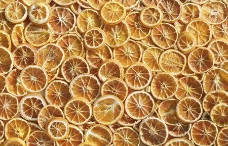 dried orange: Dried orange slices