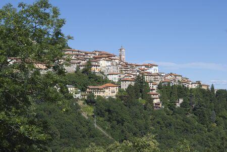 Sacro Monte of Varese, Lombardy, Italy Stock Photo