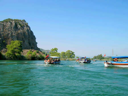 cruising: Cruising the Dalyan River