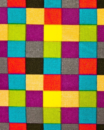 Colorful fabric background. photo