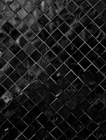 Dark Tiled Background Stock Photo