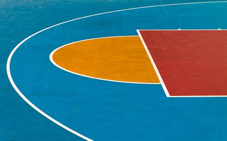 Basketball Playground Stock Photo - 13301107
