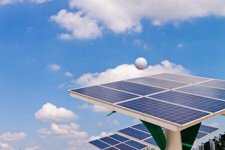 Solar energy power plant   photo