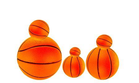 canasta familiar bola Foto de archivo - 13415087