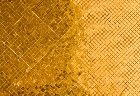 gold tile background  photo